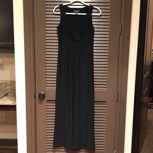 Black Ralph Lauren Maxi Dress Size 8